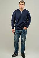 Мужской свитер декоративн пуговицами