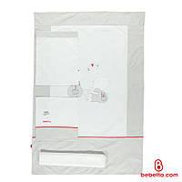 Детская постель Детская постель Bebetto Pervane 4 предмета white/grey