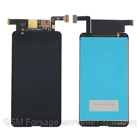 Дисплей Sony E4g / E2003 / E2006 / E2033  complete with touch Black