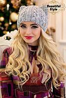 Зимняя женская шапка  Кэти Стронг