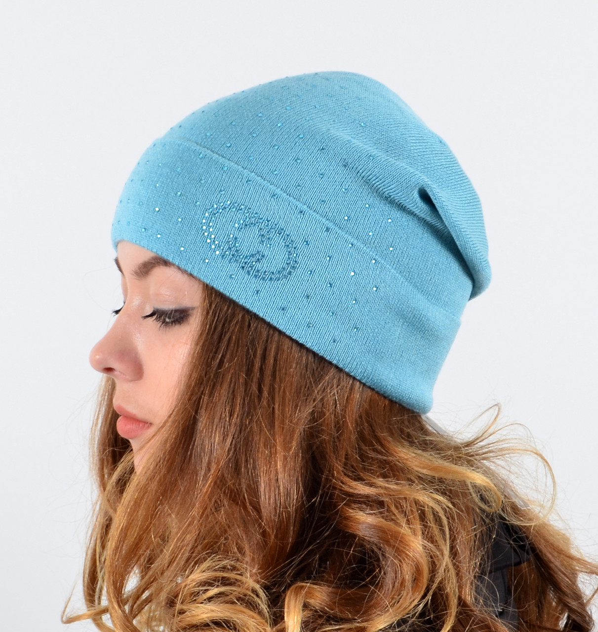 Женская шапка LaVisio (камни).