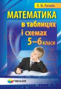 Математика в таблицях і схемах. Навчальний посібник для учнів 5-6 класів.