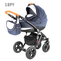 Детская универсальная коляска 2 в 1 ADAMEX Avila 18PY