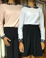 Блузка с длинными рукавами, ХS,S,M,L р-ры, 230/200 (цена за 1 шт. + 30 гр.)