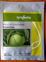 Семена поздней капусты Агрессор F1. Упаковка 2500 семян. Производитель Syngenta.