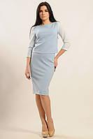 Женский костюм Вивьен цвет голубой Ри Мари 42-52р.