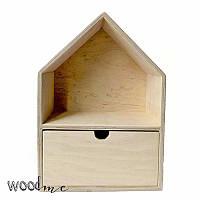 Полка-дом с ящиком