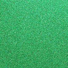 Фоамиран з глітером 2 мм, 20x30 см, Китай, СМАРАГДОВИЙ
