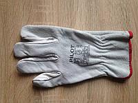Перчатки комбинированные (спилок + кожа)