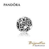 Pandora шарм СЕРДЦЕ PANDORA #796461 серебро 925 Пандора оригинал