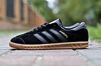 Кроссовки мужские Adidas Originals Hamburg Натуральная замша