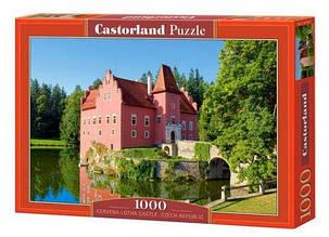 Пазлы Красный замок Чехия Castorland 1000 элементов