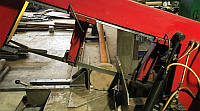 Порезка металла на ленточнопильном станке