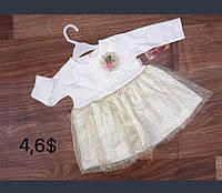 Платье 62-68-74 см