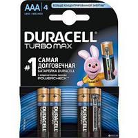 Батарейки Duracell Turbo max AAА(LR03) *4шт