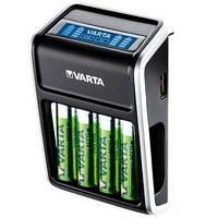 Зарядное устройство Varta LCD Для AA/AAA/9V и USB устройств
