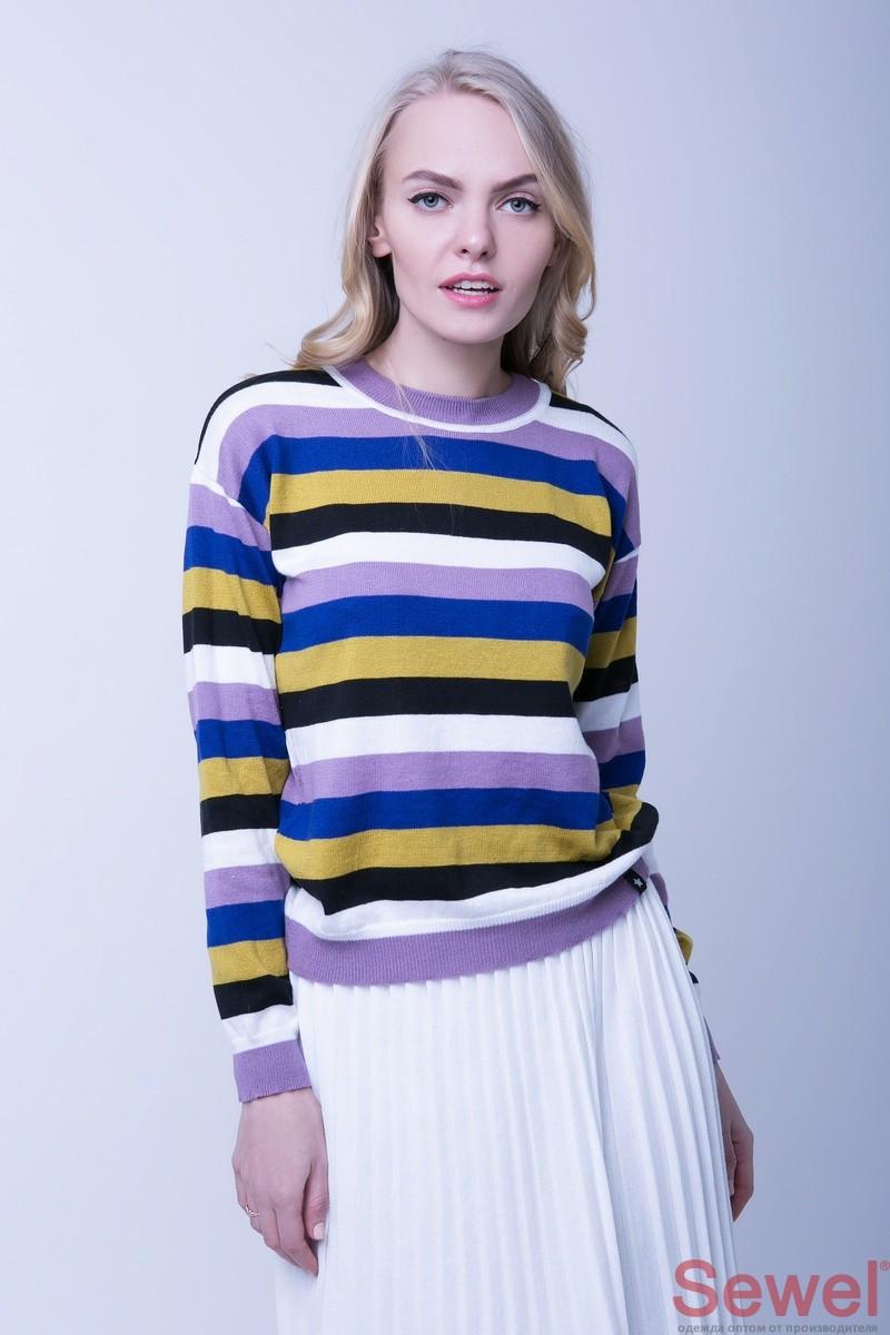 Легкий женский весенний свитер