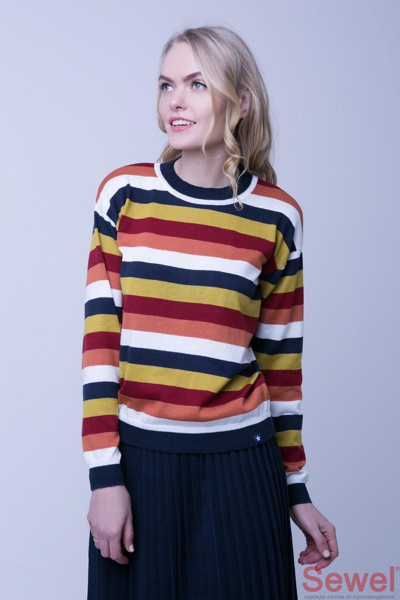 Весенний женский легкий свитер