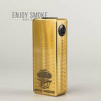 Механический мод BJ Pip Box (Series) - Gold Sparkle