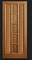 Дверное полотно шпонированое Коллекции Стиль Квадрат глухое Омис