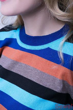 Яркий женский осенний свитер, фото 2