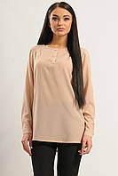 Женская шифоновая блуза Айрин цвет беж Ри Мари 42-56р.