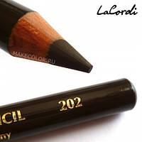 Карандаш для глаз (коричневый) LaCordi  202