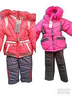 Детские куртки-комбинезоны