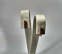 Милые золотые сережки 585* пробы