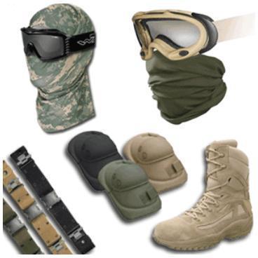 Снаряжение тактическое:очки, маски, дождевики, головные уборы и т.д.
