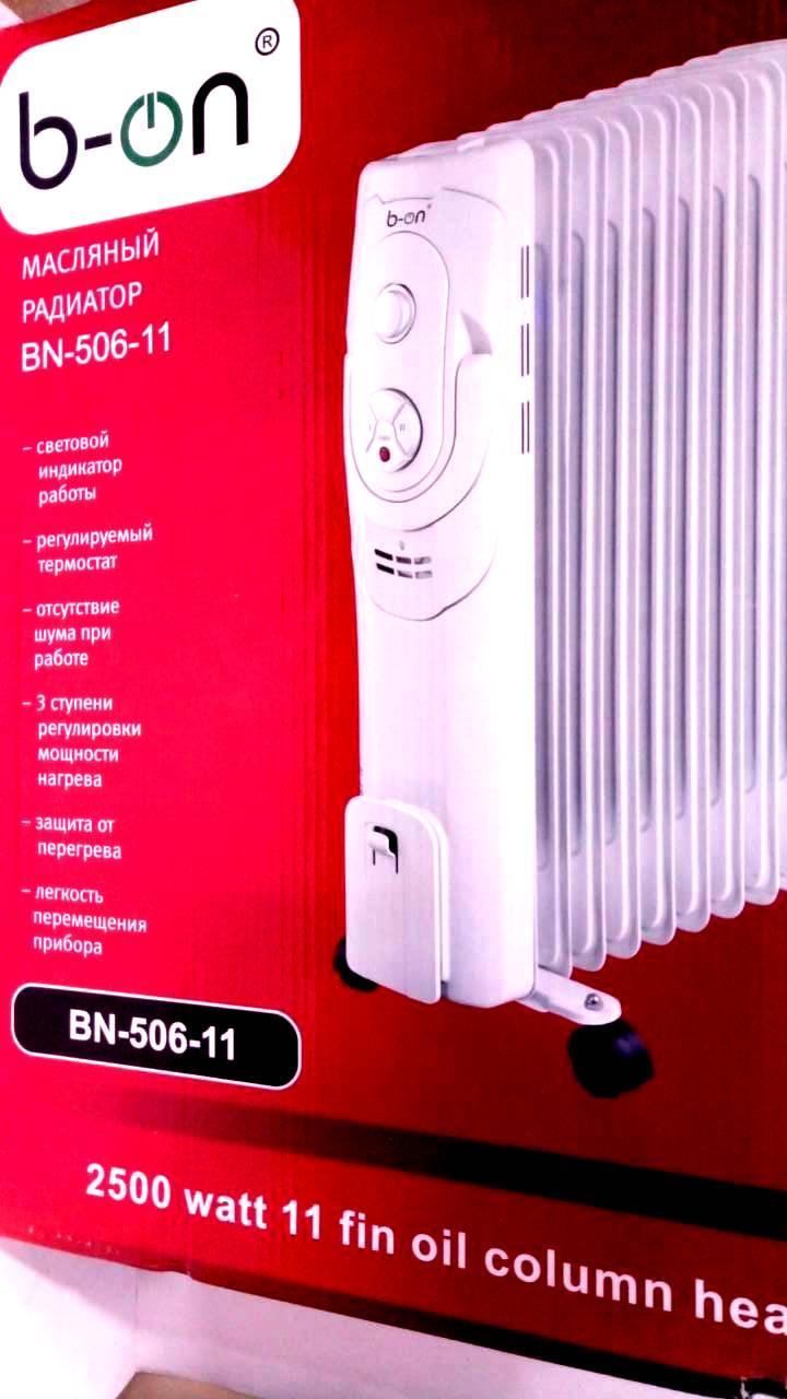 Масляный обогреватель B-on BN-506-11 2500W
