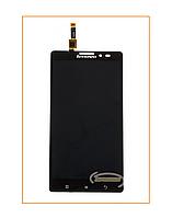 Дисплей  Lenovo K910 с сенсором (тачскрином) Black Original