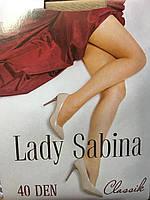 Женские колготки Lady Sabina 40den