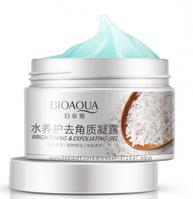 Гель-эксфолиант BioAqua с рисовым экстрактом и фруктовыми кислотами. 140 г