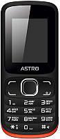 Мобильный телефон Astro A177 Black/Red