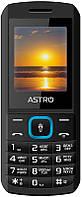 Мобильный телефон Astro A170 Black/Blue