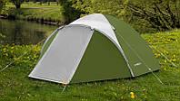 Палатка туристическая новая Acamper Acco 3 двухслойная клееные швы Зеленая