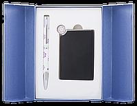 """Набор подарочный """"nature"""": ручка шариковая + зеркало, фиолетовый ls.122035-07"""