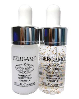 Осветляющие сыворотки BERGAMO White White & Vita White Whitening Perfection Ampoule Set