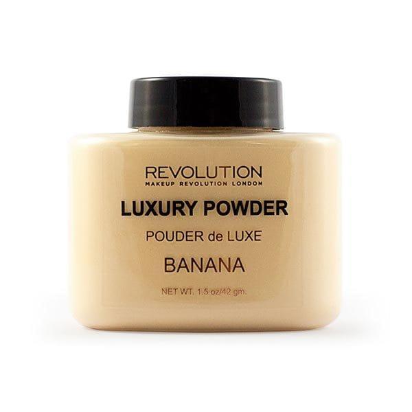 Рассыпчатая пудра Luxury Banana Powder Makeup Revolution