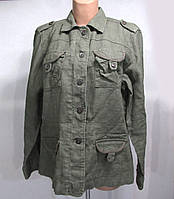 Куртка летняя, EVIE Authentic, 16, Лен, Хаки, Как Новая!