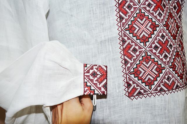 мужская украинская вышиванка