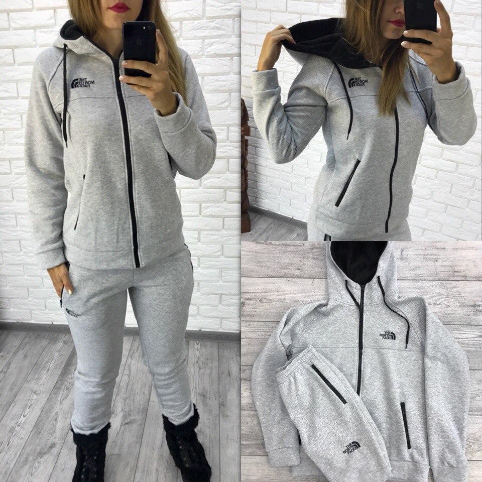 c5edb498 Теплый женский спортивный костюм трехнитка с начесом - Интернет-магазин