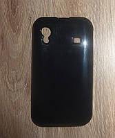 Чехол накладка Samsung S5830 Galaxy Ace черный