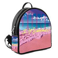 Городской рюкзак с принтом I love summer
