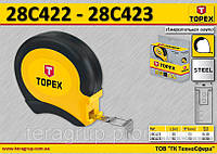 Лента измерительная L-20м., W-13мм., стальная, TOPEX  28C422