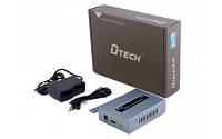 Удлиннитель HDMI сигнала по  Ethernet (120m) Dtech