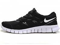 Мужские кроссовки Nike Free Run 2 Black/White