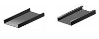Гнутый профиль U100х35х1,5 мм.