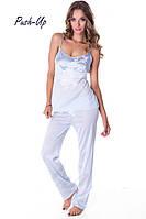Шелковая женская пижама Suavite Селеста-П, фото 1